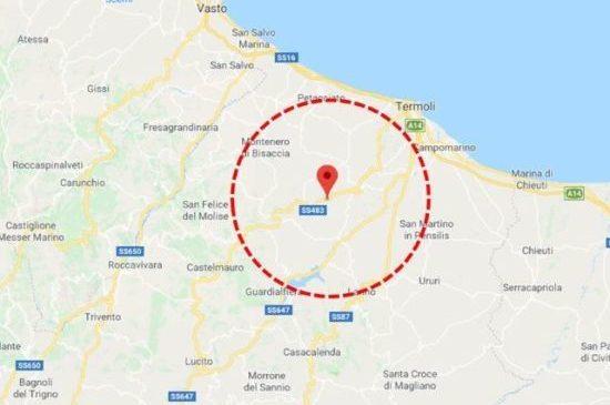 Forte scossa di terremoto in centro sud Italia