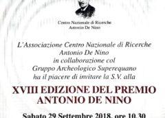 XVII Premio De Nino al via