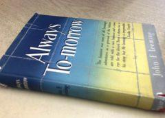"""Dibattito sul libro: """"Sempre domani"""" di J.F. Leeming con Il Sentiero della Libertà"""