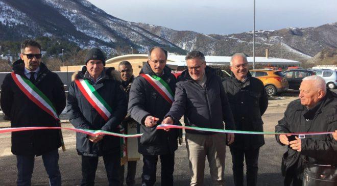 Inaugurata la nuova stazione ipecologica di Villalago