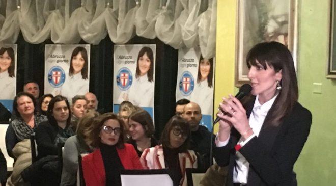 Regionali, folla per la Scoccia con Cesa e Rotondi [video]