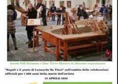 Ascom organizza visita a Napoli per la mostra dedicata a Leonardo