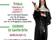 Parrocchia di Santa Maria della Tomba: Festa in onore di Santa Rita da Cascia