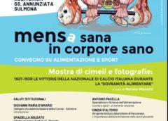 """""""Mens…a sana in corpore sano"""", convegno all'Annunziata"""