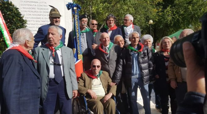Inaugurato il monumento alla Brigata Maiella, Malvestuto: per non dimenticare