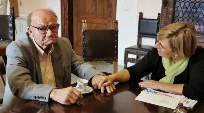 Dalla Repubblica Ceca a Sulmona a 83 anni sulle tracce del nonno al campo 78