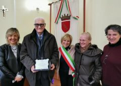La città omaggia lo studioso Mattiocco per il suo 94' compleanno