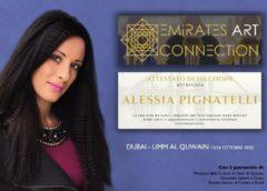 Molteplici eventi internazionali per Alessia Pignatelli che giunge anche negli Emirati Arabi Uniti